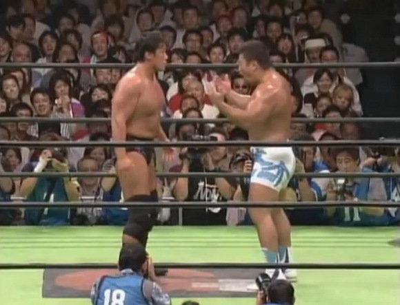 外人:「日本のプロレスの壮絶なチョップ合戦すげぇぇぇ!」